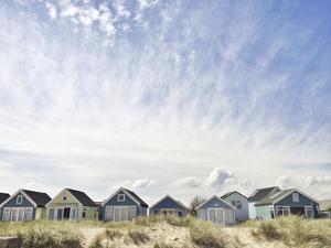 Beach Huts-Mudeford by Denise Taylor
