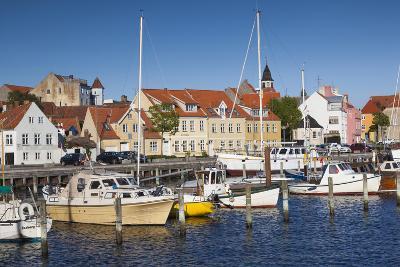Denmark, Funen, Faaborg, Port View-Walter Bibikow-Photographic Print