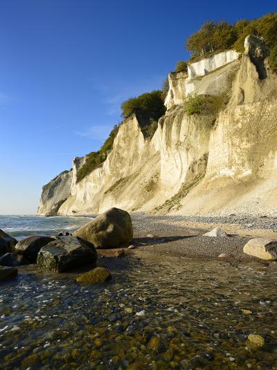 Denmark, Island M¡N, the Chalk Rocks of M¡Ns Klint-Andreas Vitting-Photographic Print
