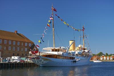 Denmark, Jutland, Sonderborg, Harbour, Royal Yacht 'Dannebrog'-Chris Seba-Photographic Print