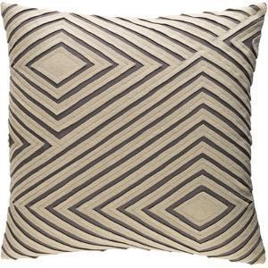 Denmark Pillow Cover - Camel/Grey