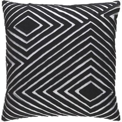 Denmark Poly Fill Pillow - Black