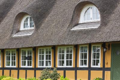 Denmark, Tasinge, Troense, Traditional Danish House-Walter Bibikow-Photographic Print