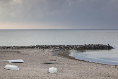 Denmark, Zealand, Tisvildeleje, View of Hesselo Bay-Walter Bibikow-Photographic Print