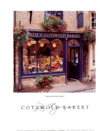 Cotswold Bakery Dennis Barloga Storefront Art Print 16x20