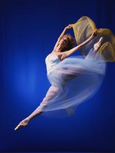 Ballerina Dancing by Dennis Degnan