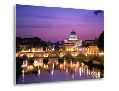 Sant'Angelo Bridge over Tiber River