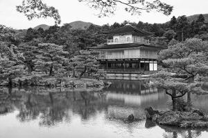 Asia, Japan, Kyoto. Kinkaku-Ji Zen Buddhist Temple by Dennis Flaherty