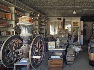 Boone's General Store in the Abandoned Mining Town of Bodie, Bodie State Historic Park, California by Dennis Flaherty