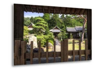 Grounds of the Shingon-in Temple, Nara, Japan.