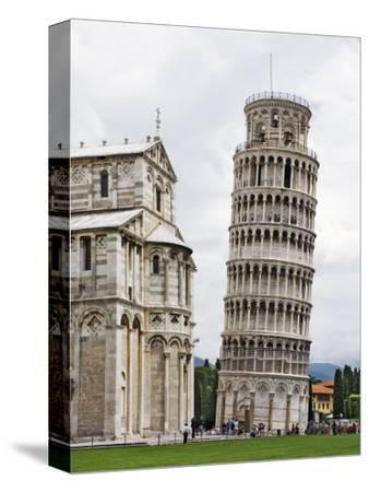 Leaning Tower Next to the Duomo Pisa, Pisa, Italy