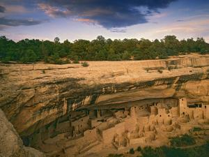 Ruins of Cliff Palace Built by Pueblo Indians, Mesa Verde National Park, Colorado, USA by Dennis Flaherty