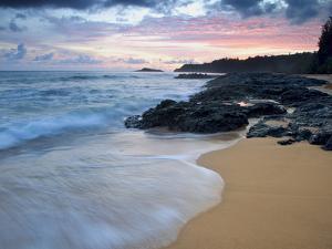 Secret Beach, Kauai, Hawaii, USA by Dennis Flaherty