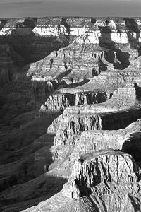 USA, Arizona, Grand Canyon NP. Landscape of Eroded Formations by Dennis Flaherty