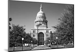 USA, Texas, Austin. State Capitol Building Dome by Dennis Flaherty