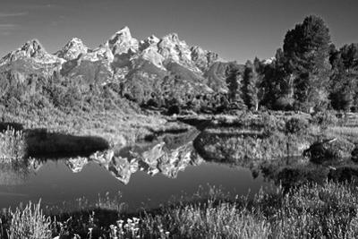 USA, Wyoming, Grand Teton National Park. Mountain Sunrise by Dennis Flaherty