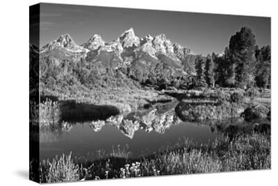 USA, Wyoming, Grand Teton National Park. Mountain Sunrise