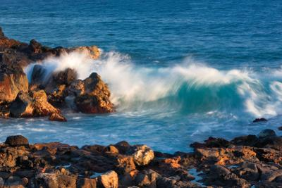 Rock and Rolling Waves by Dennis Frates
