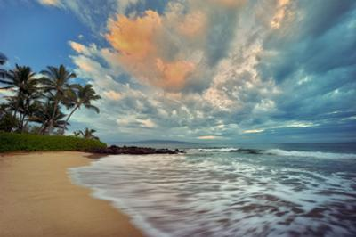 Secluded Beach by Dennis Frates
