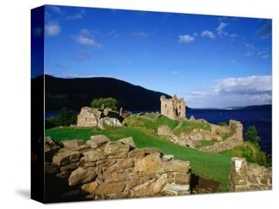Urquhart Castle Remains on Shores of Loch Ness, Drumnadrochit, United Kingdom