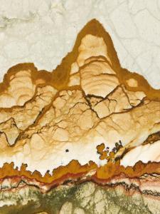 Close-Up of Jasper Stone, Rocky Butte, Oregon, USA by Dennis Kirkland