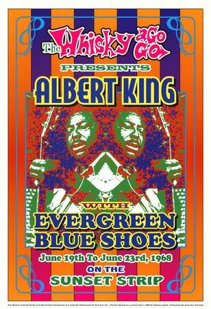 Albert King Whisky-A-Go-Go Los Angeles, c.1968