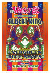 Albert King Whisky-A-Go-Go Los Angeles, c.1968 by Dennis Loren