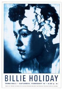 Billie Holiday at Town Hall, New York City, 1948 by Dennis Loren