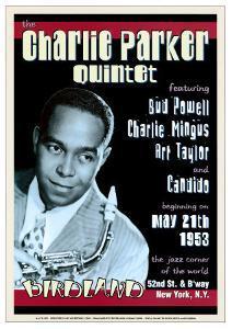 Charlie Parker Quintet at Birdland, New York City, 1953 by Dennis Loren