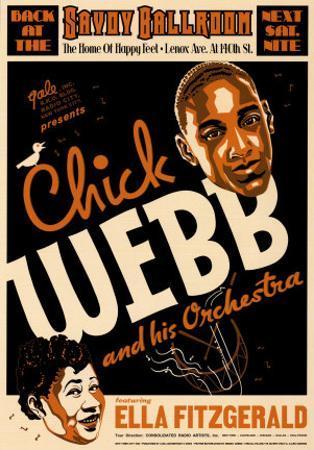Chick Webb and Ella Fitzgerald at the Savoy Ballroom, New York City, 1935