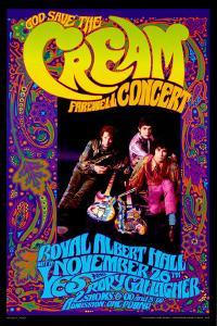 Cream at the Whiskey A-Go-Go by Dennis Loren