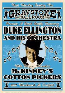 Duke Ellington and His Orchestra at the Graystone Ballroom, New York City, 1933 by Dennis Loren