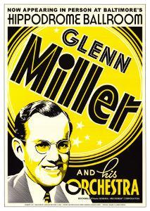 Glenn Miller and His Orchestra at the Hippodrome Theatre, Baltimore, Maryland by Dennis Loren