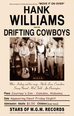 Hank Williams and the Drifters at Journey's End, Camden, Alabama, 1947