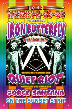 Iron Butterfly and Quiet Riot Whisky-A-Go-Go Los Angeles, c.1979 by Dennis Loren