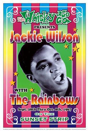 Jackie Wilson Whisky-A-Go-Go Los Angeles, c.1967