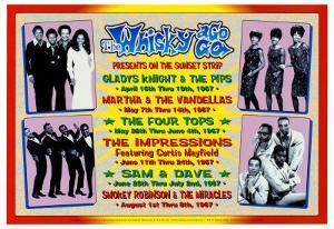 Motown Revue at the Whiskey A-Go-Go by Dennis Loren
