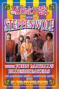 Steppenwolf Whisky-A-Go-Go Los Angeles, c.1968 by Dennis Loren