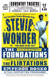 Stevie Wonder in Concert, 1969 by Dennis Loren