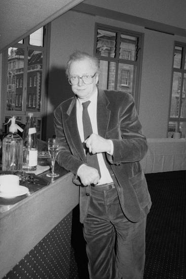 Dennis Potter, Bafta, London, 1990-Brian O'Connor-Photographic Print