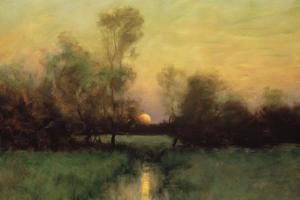 Summer Moonrise by Dennis Sheehan