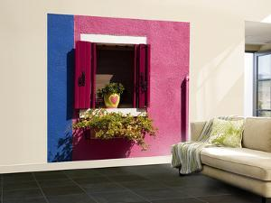 Colorful Walls and Window by Dennis Walton