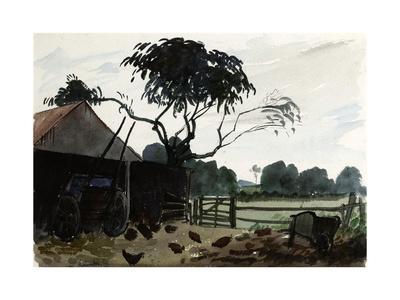 A Farmyard, C.1930