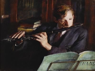 The Flautist, 1926