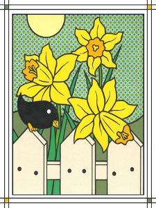 Daffodils with Kernel 4 by Denny Driver