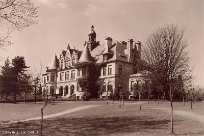 Denny Hall, University of Washington--Art Print