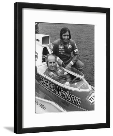 Denny Hulme and Emerson Fittipaldi, 1974