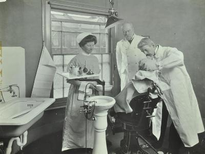 Dental Room, Woolwich School Treatment Centre, London, 1914--Photographic Print