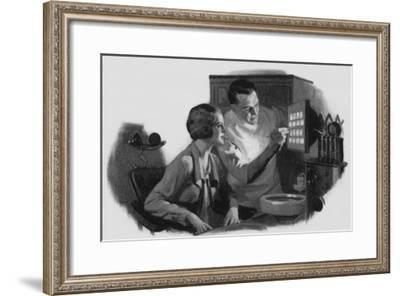 Dentist and Patient, 1934--Framed Giclee Print
