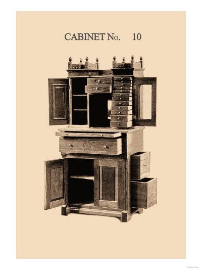 Dentist's Cabinet--Art Print